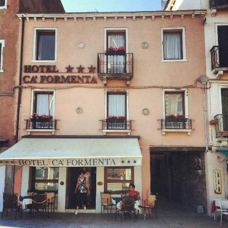 Hotel Ca' Formenta: From the front of the building