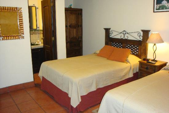 Hotel Meson del Valle: Rooms with 2 beds