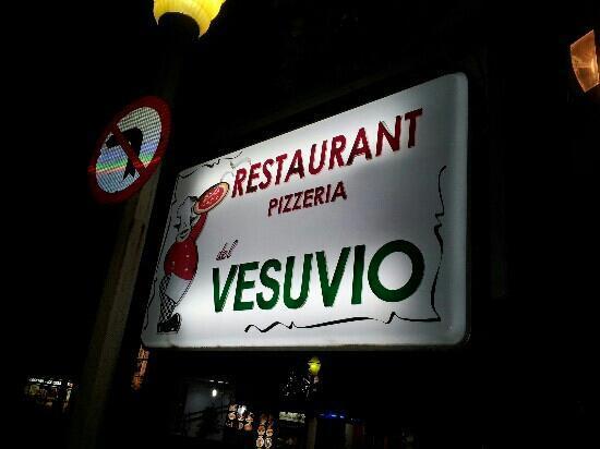 Restaurant, Pizzeria, del Vesuvio: Restaurant Pizzeria Vesuvio