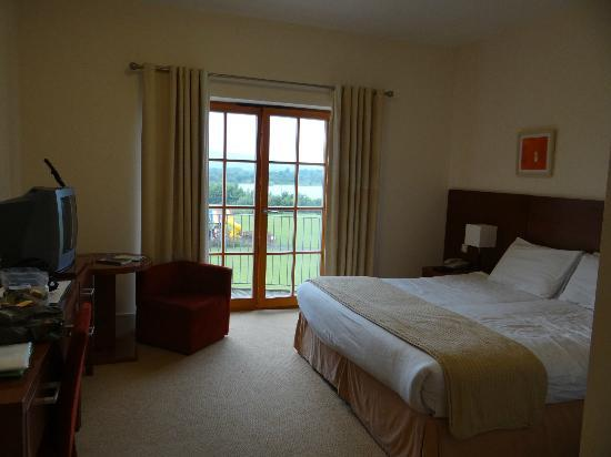 Lough Allen Hotel & Spa: room with a view
