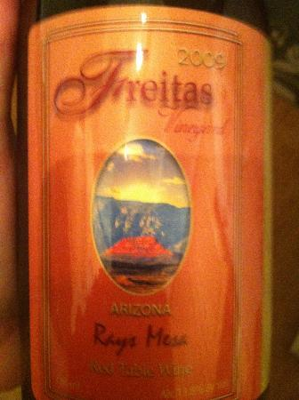 Dionysian Cellars: Rays Mesa label1