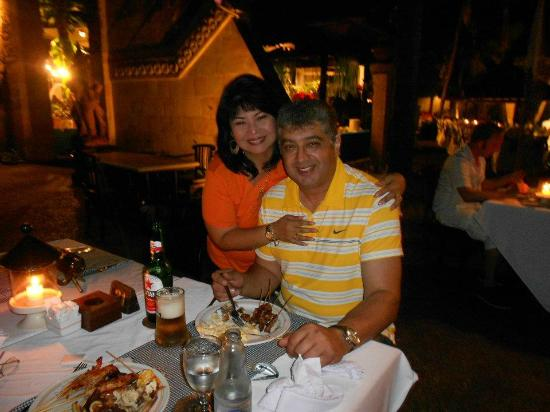 Candi Beach Resort & Spa: Lovely Dinner - Seafood Buffet