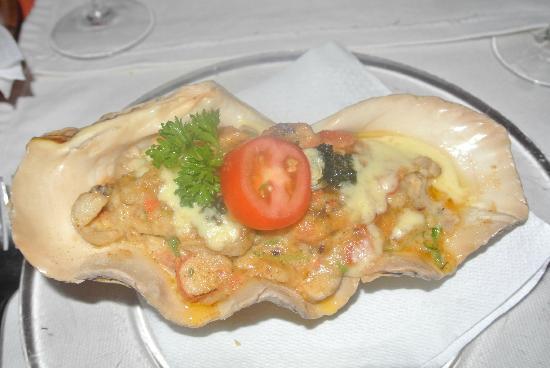 La Terrasse : Seafood Gratin