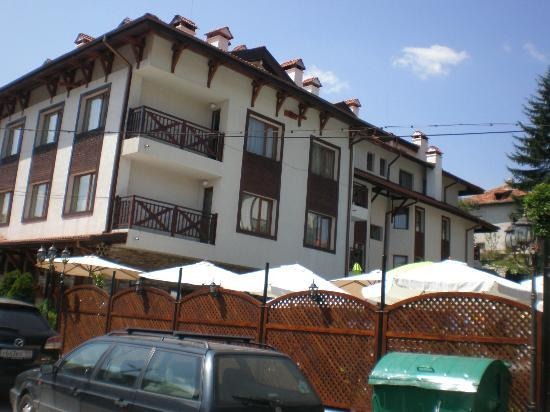 Aquilon Residence & Spa : Hotel from outside