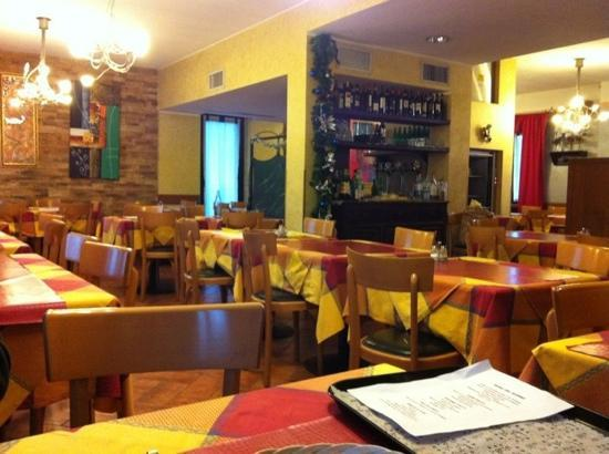 La Ca' Della Taragna: the upstairs room