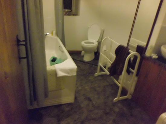 Ye Olde Malthouse Inn: bathroom