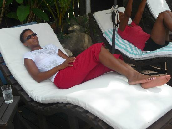 Villas Sur Mer: Pool area