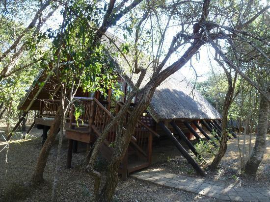 Hluhluwe River Lodge: Kaldigimiz yerler