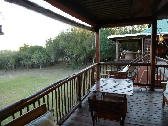 Hluhluwe River Lodge: Odadan disarisi