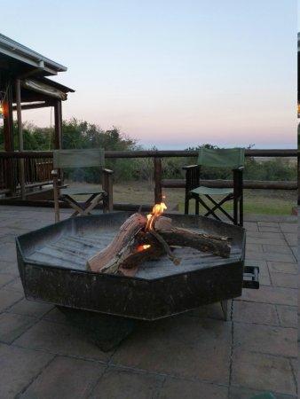 Hluhluwe River Lodge: Restoran alani