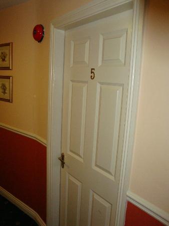 Griffin Lodge: Ingresso Camera da letto