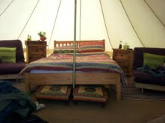 Seventh Heaven Glamping Ltd: Tent
