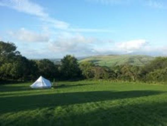 Seventh Heaven Glamping Ltd: View of our tent