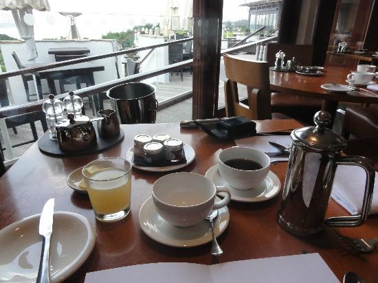 Harbour Heights Hotel : Breakfast