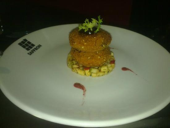 Saffron Restaurant: Vegetarian starter