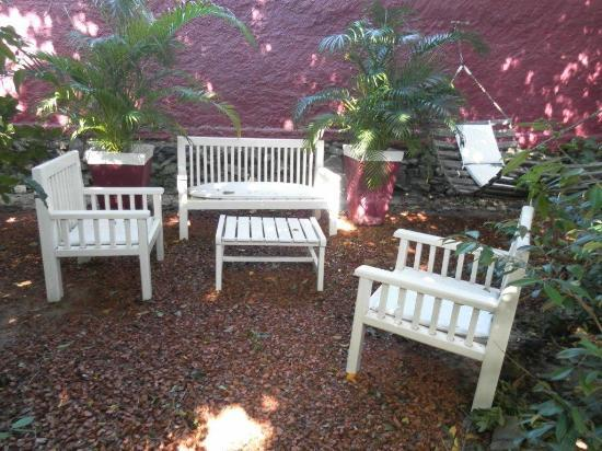 Pousada Terra dos Goitis: jardin privado Pchalé Palacio Viejo