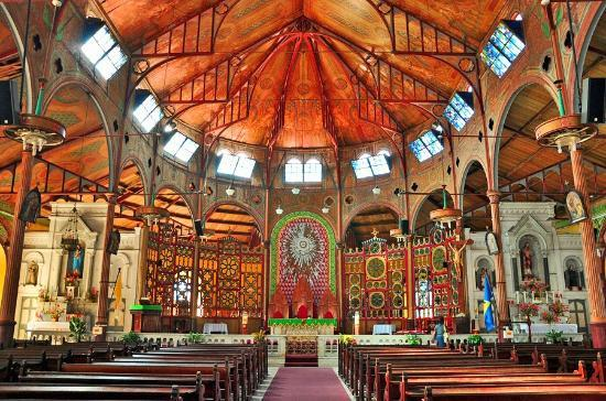 Castries, St. Lucia: Beautiful nterior of the Church