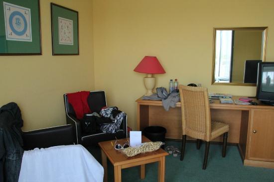 Fletcher Hotel-Resort Amelander Kaap: de indeling van de kamer is niet handig