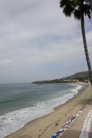 Pacific Edge Hotel on Laguna Beach: View from ocean front room balcony
