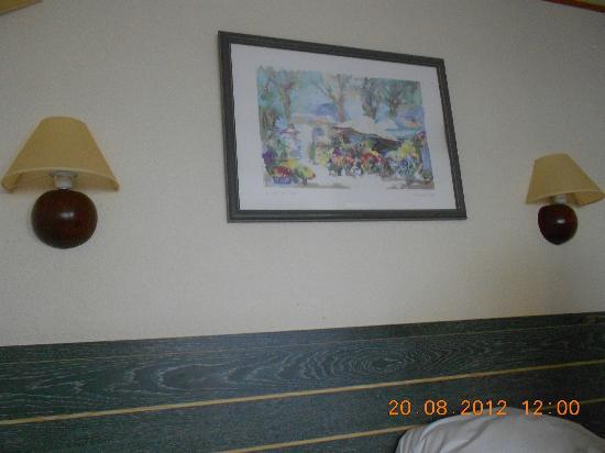 Inter-Hotel Rouen Oissel : la déco