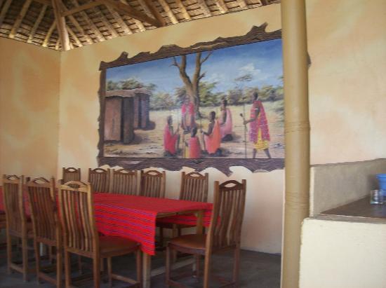 Masai Mara Manyatta Camp : restaurant