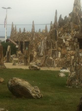 Petrified Wood Park: worth stopping