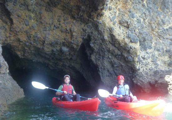 Paddle Sports Center : Two satisfied cave customers!