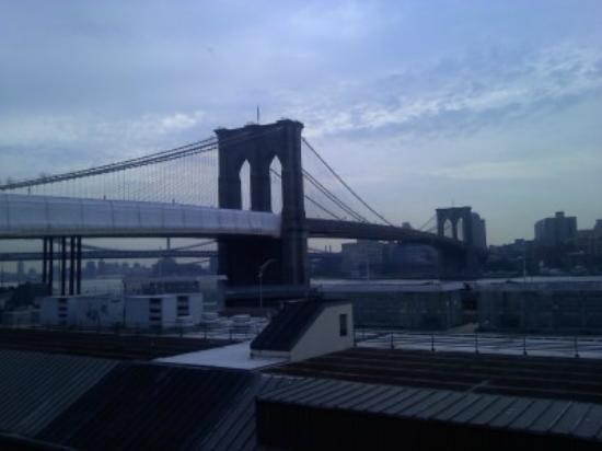 BEST WESTERN PLUS Seaport Inn Downtown: the view from our terrace room