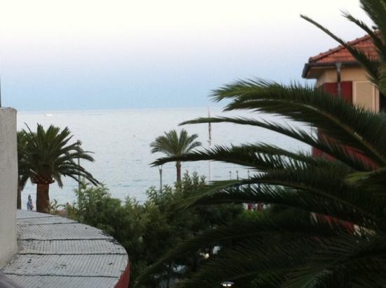 Appart'é Hôtel : vista dalla terrazza (3 piano)