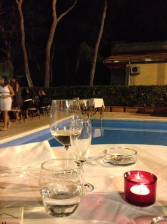 cena in piscina picture of ristorante villa giusy ForCena In Piscina
