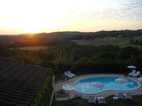 Hôtel Mounéa : lever du soleil