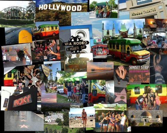 A Day in LA Tours: collage
