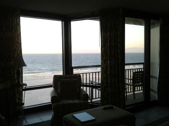 شيل أيلاند ريزورت - أول أوشنفرونت سويتس: Ocean view as far as you can see 