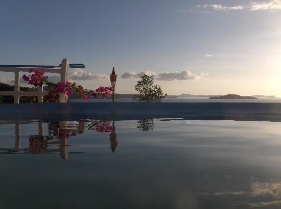 Busuanga Town, Philippines: Infinity pool