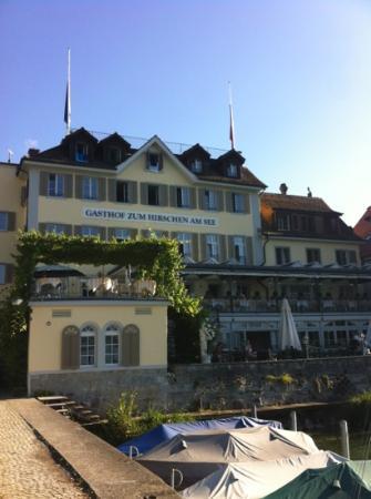 Hirschen am See : albergo sul lago