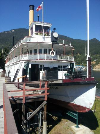 The SS Moyie National Historic Site: 3 levels to explore