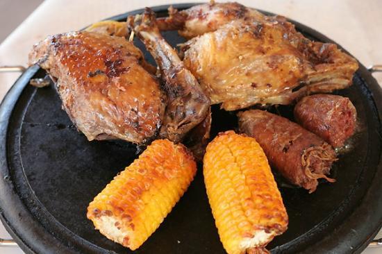 Cascina Madonnina: Grilled duck, goose and goose sausage