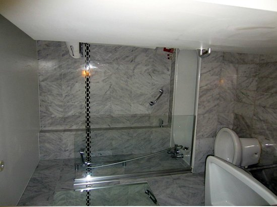 Le Grand Hotel: Shower