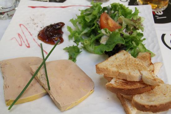 L'Imprimerie : Foie Gras on 22 Euro menu