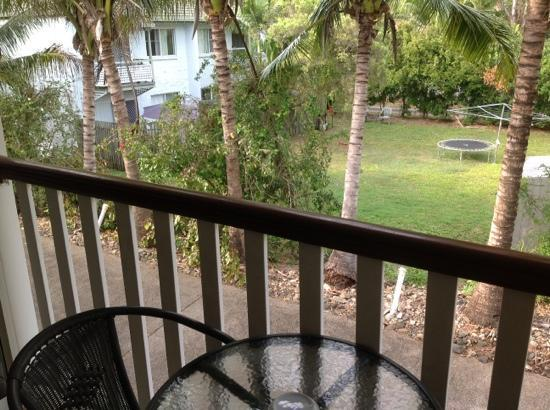 Best Western Mango House Resort: our tree top view from balcony