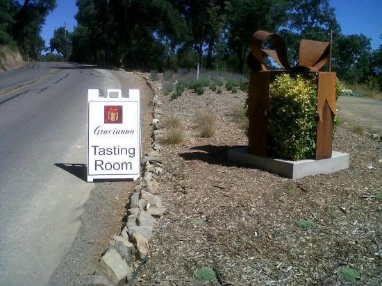 "Gracianna Winery: The Gracianna ""gift"" on Westside Road, Healdsburg"