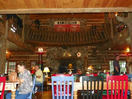 The Swinging Bridge Restaurant: Swinging Bridge