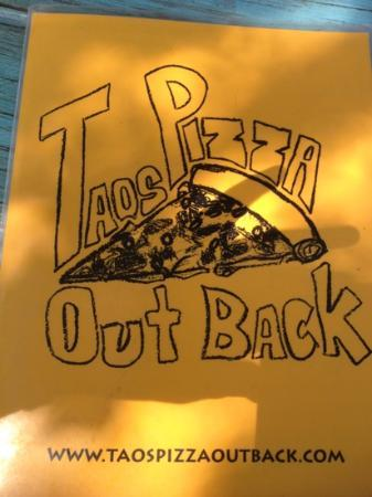 Taos Pizza Out Back: a must try - something for everyone!!