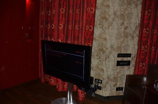 Buddha-Bar Hotel Prague: 40 Inches B&O TV