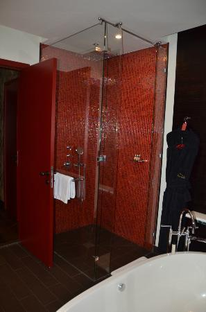 Buddha-Bar Hotel Prague: Shower