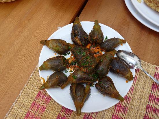 Riad Dar-K : Salle à manger - figues