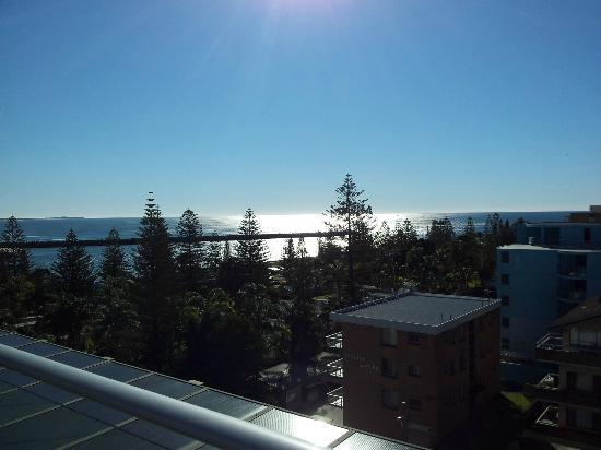 View From Roof Bbq Spa Area Picture Of Macquarie Waters Hotel