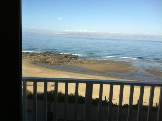 The Coho Oceanfront Lodge: view from balcony