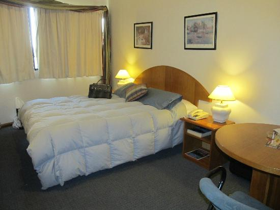Apart Hotel Alvear: la habitacion