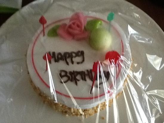 Katathani Phuket Beach Resort: My husbands birthday cake